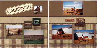 Isabel's Scrapbook Store western layout