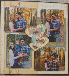Isabel's Scrapbook Store single page